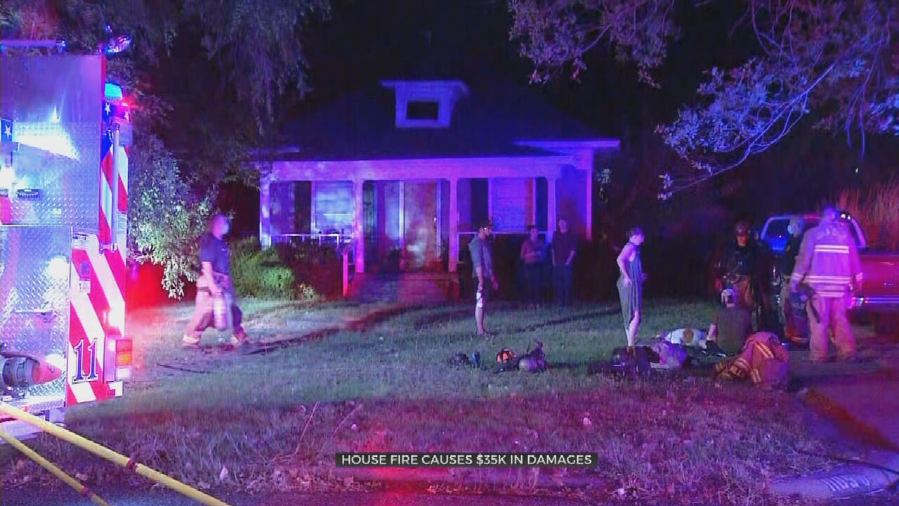 Fire Causes $35,000 Worth Of Damage To NW OCK Home