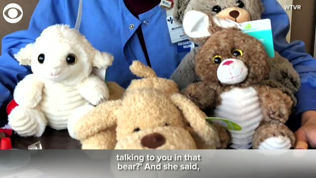 WATCH: Nurses Connect Patients With Families Through Stuffed Animals