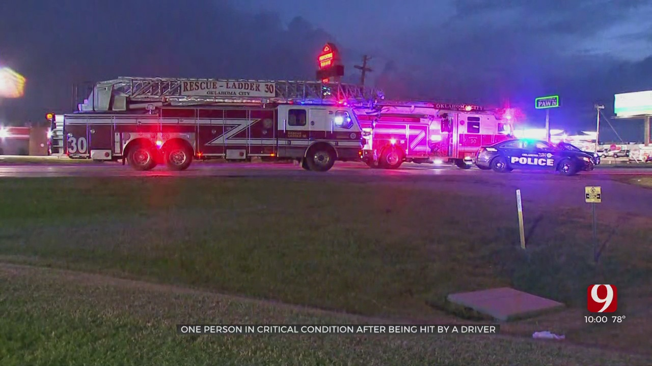 Victim Taken To Hospital In Critical Condition After Being Hit By Car On NW Expressway