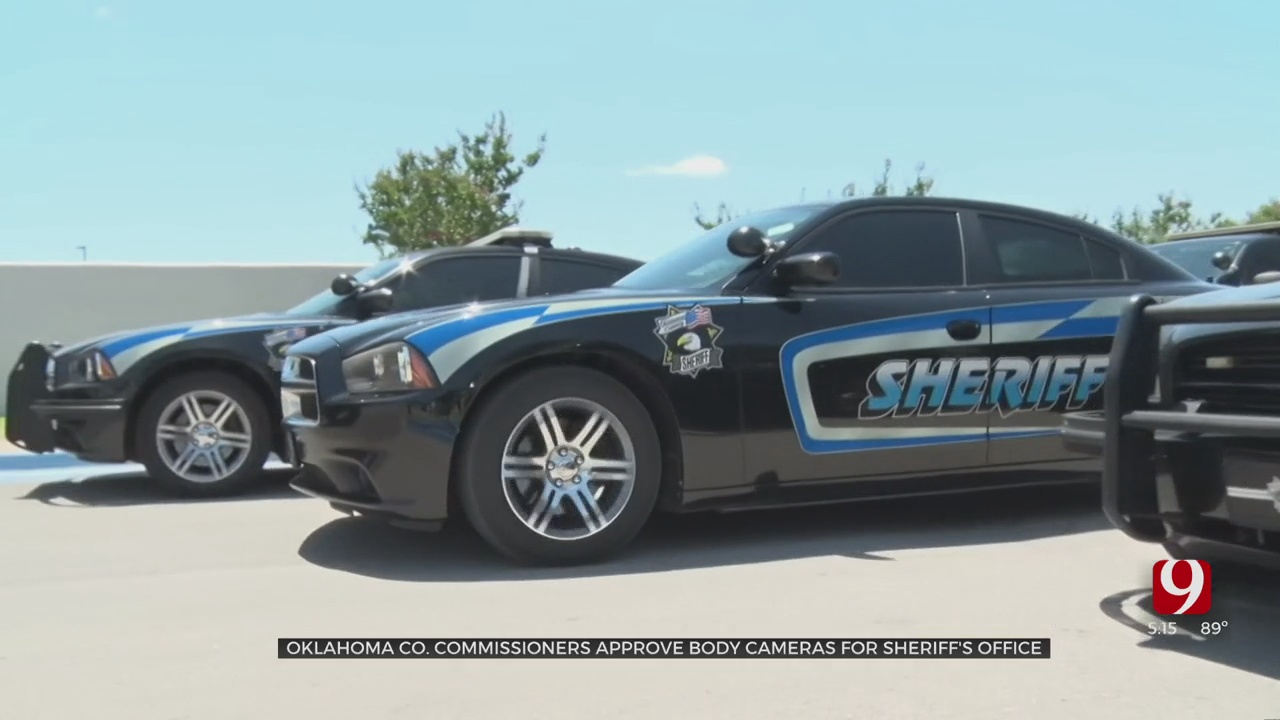 Oklahoma Co. Commissioners Approve Body Cameras For Sheriff's Office