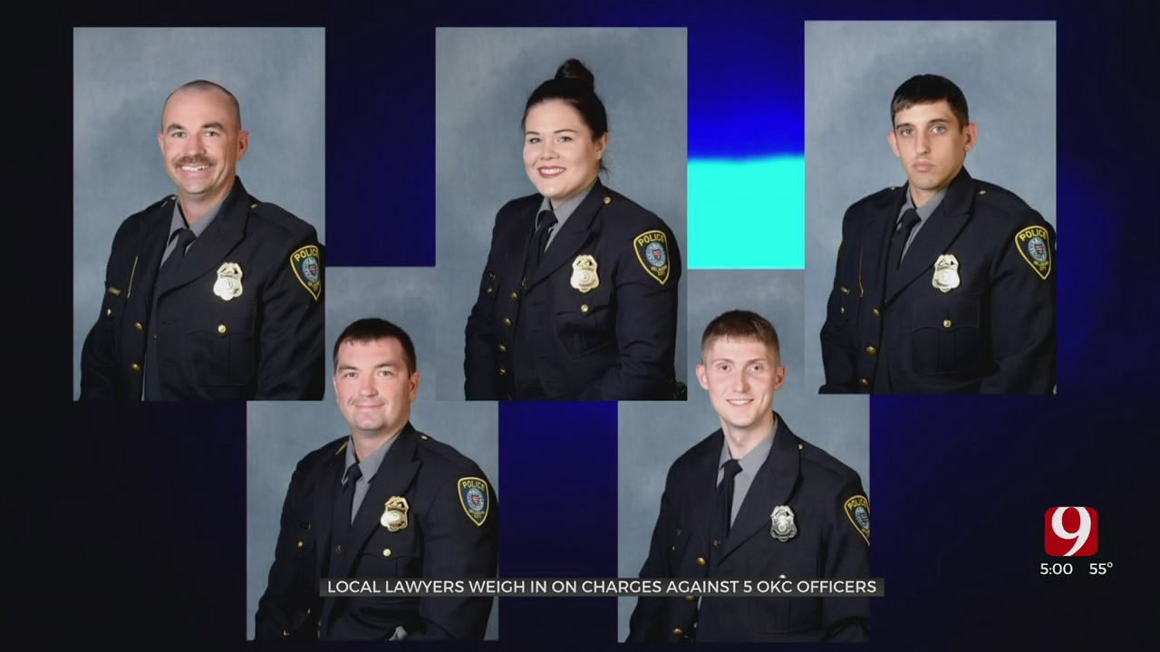 Local Defense Attorneys Offer Insight On Possible Defense For Charged OKC Police Officers