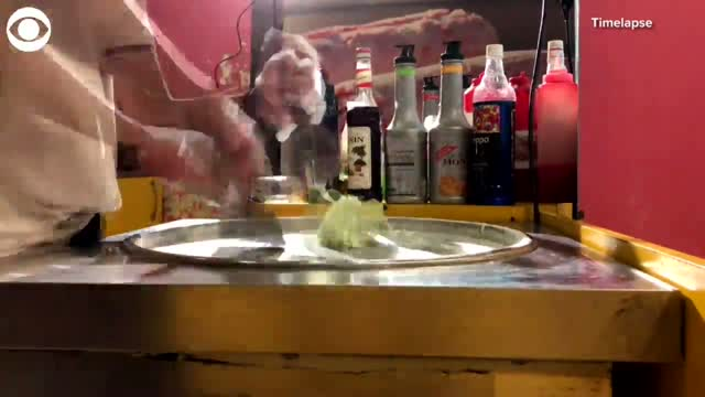 WATCH: Ice Cream Shop Creates Coronavirus-Inspired Treats