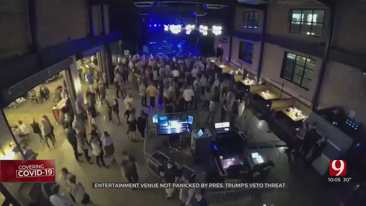 Local Concert Venue Confident After President Trump Threatens To Veto Stimulus Package