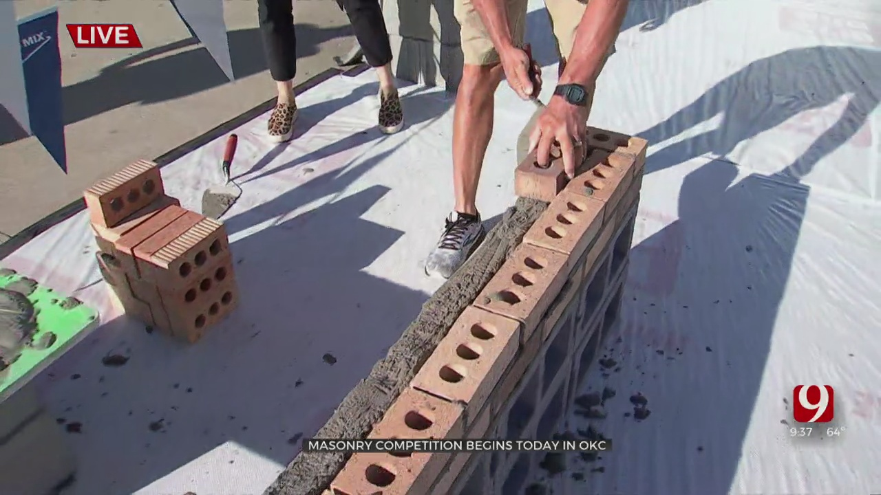 Bricklaying Competition