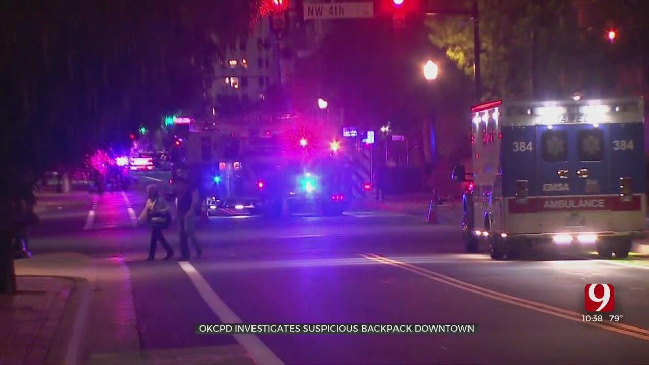 OCPD Clears Possible Bomb Threat, Backpack Contents Deemed Safe.