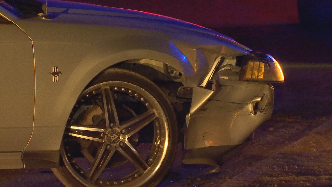 Overnight Police Chase Ends With Crash In OKC