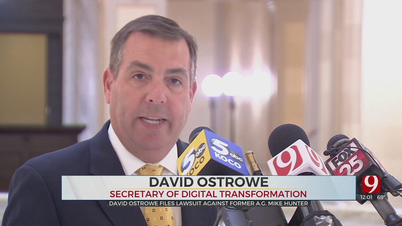 State Cabinet Member Ostrowe Announces Intention To File Lawsuit Against Former AG Hunter