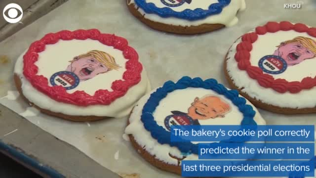 WATCH: Texas Bakery Conducts Presidential Cookie Poll