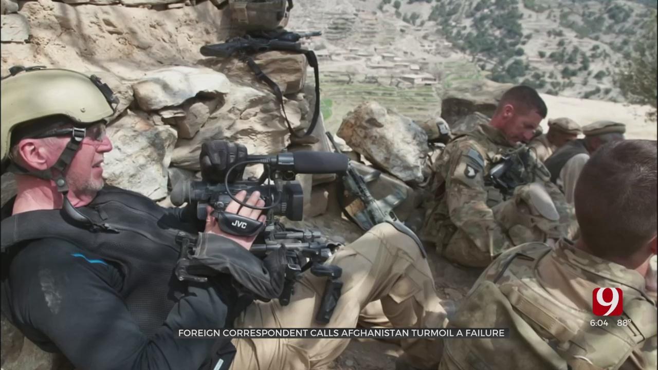 Veteran Foreign Correspondent Mike Boettcher Calls Afghanistan Turmoil A 'Failure'