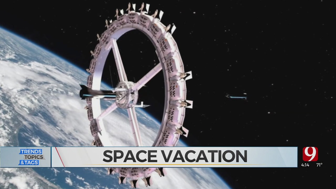 Trends, Topics & Tags: Space Hotel