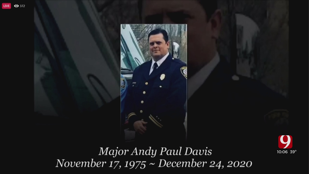 Family, Friends Gather To Honor Firefighter Who Died Of COVID-19