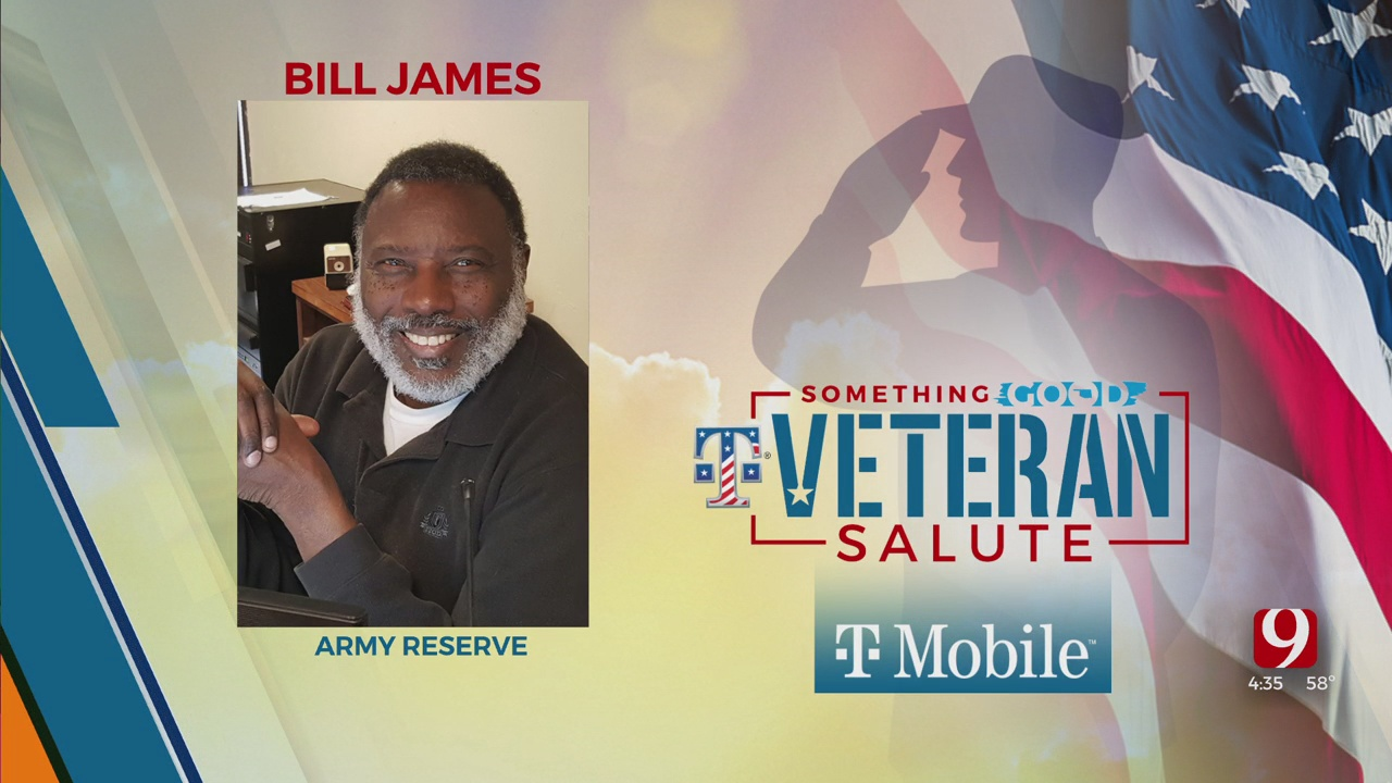 Veteran Salute: Bill James