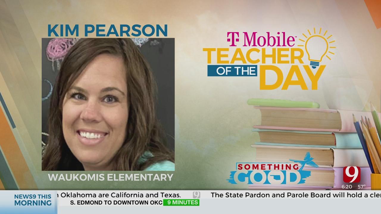 Teacher Of The Day: Kim Pearson