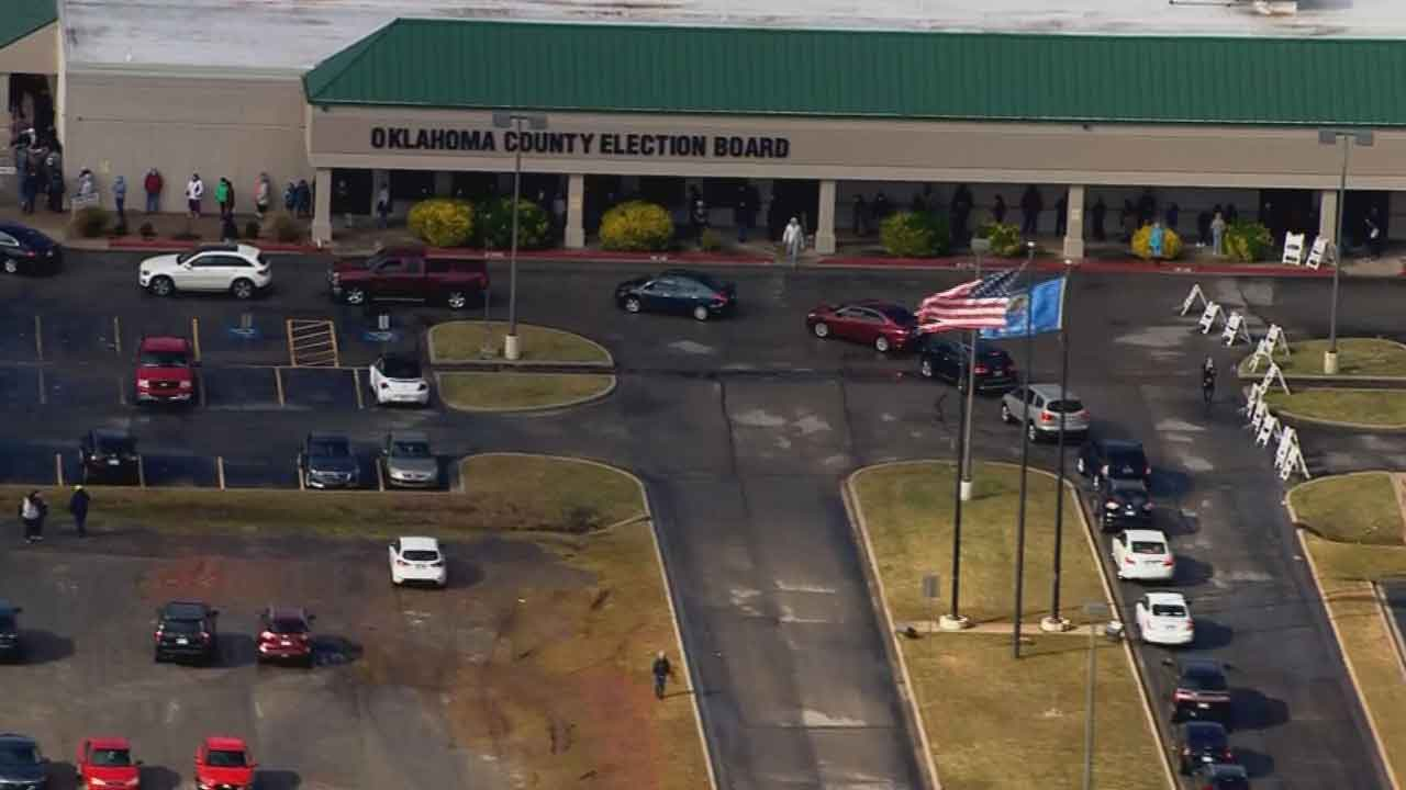 Oklahoma Prioritizing Polling Places During Statewide Effort To Restore Power
