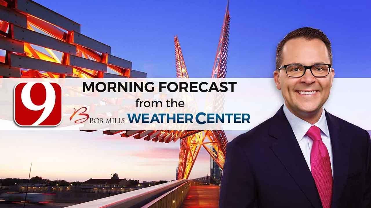 Friday Morning Forecast With Justin Rudicel