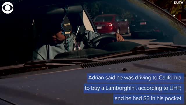 5-Year-Old Utah Boy Drives Family Car Onto Interstate, Intending To Buy Lamborghini