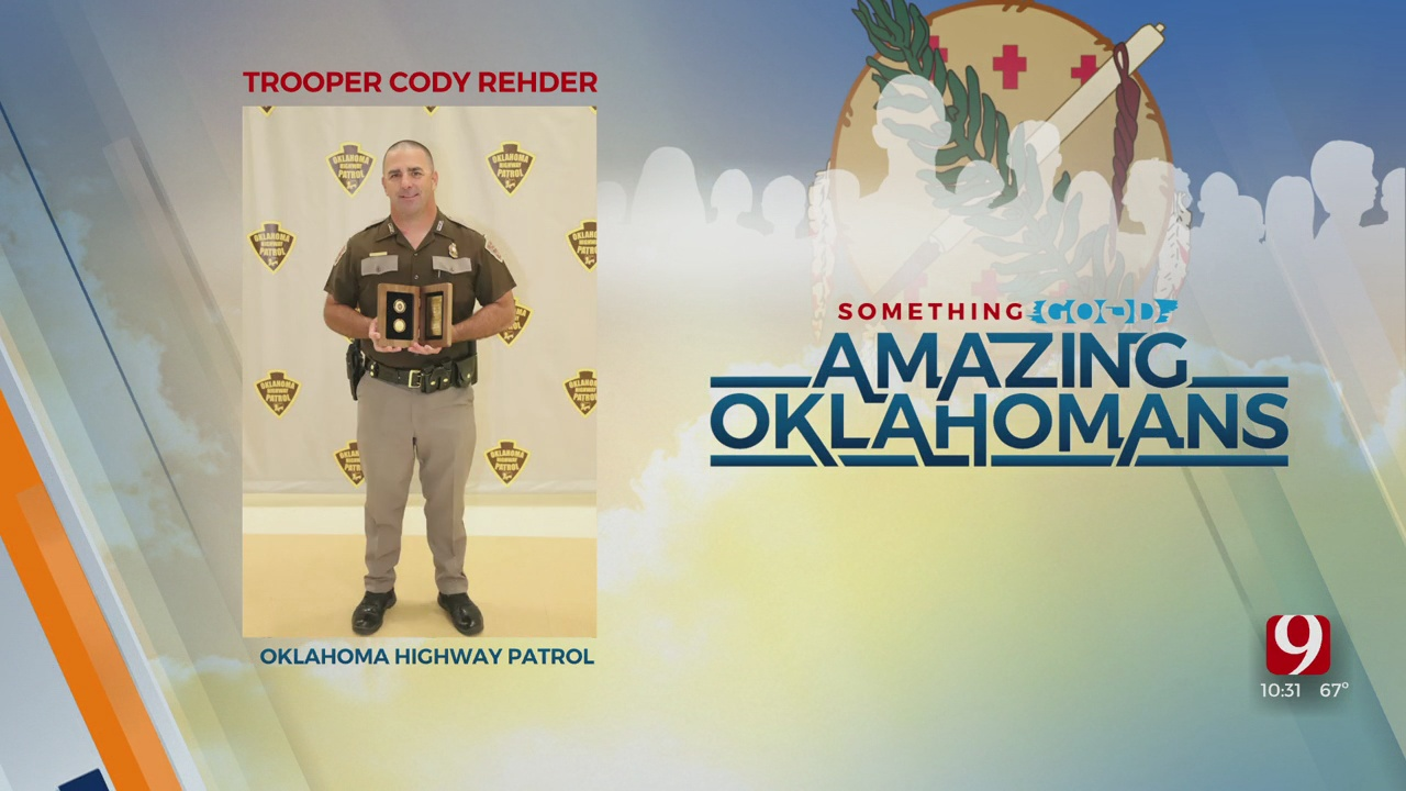 Amazing Oklahoman: OHP Trooper Cody Rehder