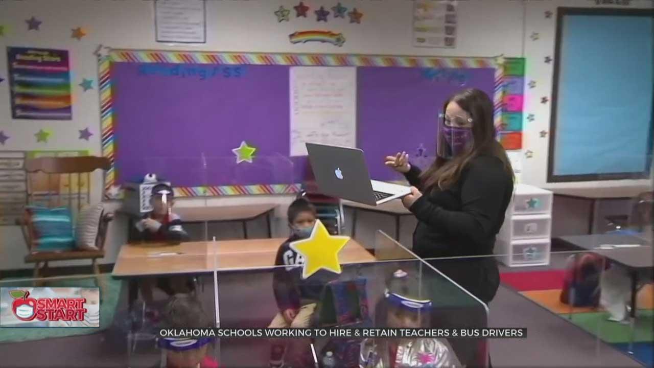 OKC Metro School Districts Work To Retain More Teachers, Staff