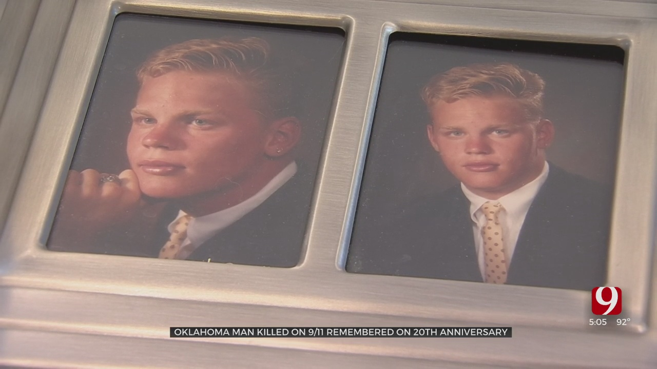 OKC Woman Remembers Son Killed In World Trade Center Attack 20 Years Ago