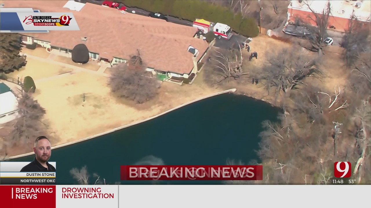 Firefighters Investigating A Drowning Report In NW OKC