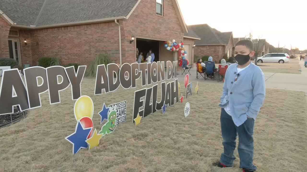 A Marvelous Day: Oklahoma City 9-Year-Old Adopted After 5 Years