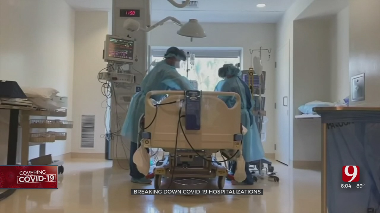 State Health Officials Break Down COVID-19 Hospitalizations; Pediatric Hospitalizations Up