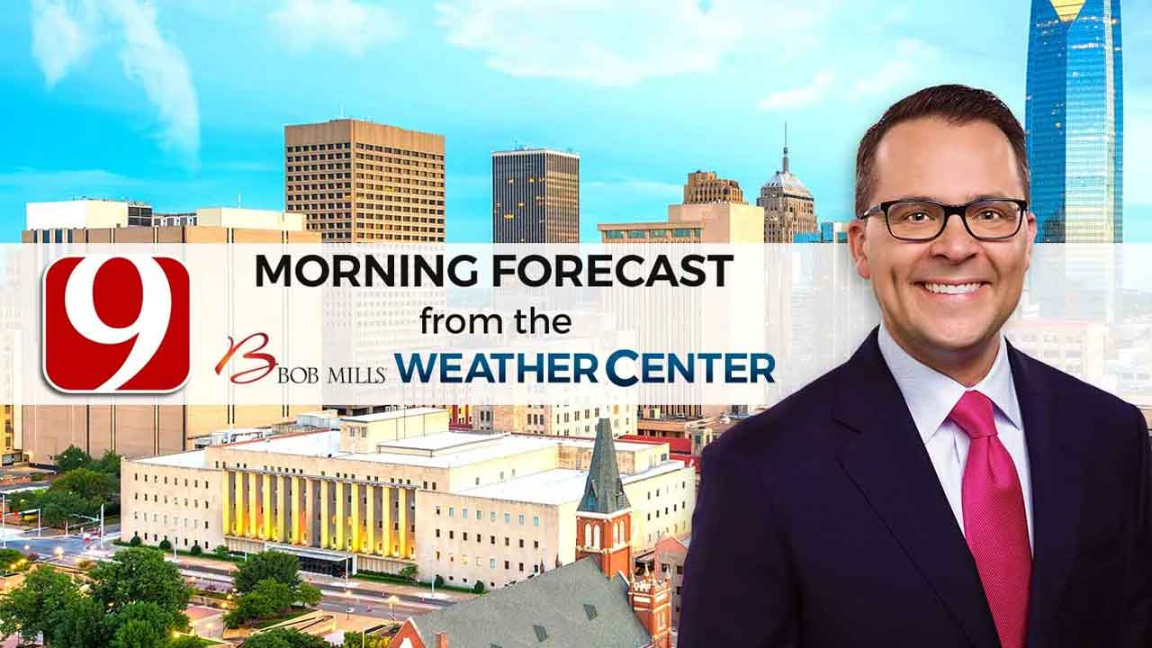 Justin's Friday 9 A.M. Forecast