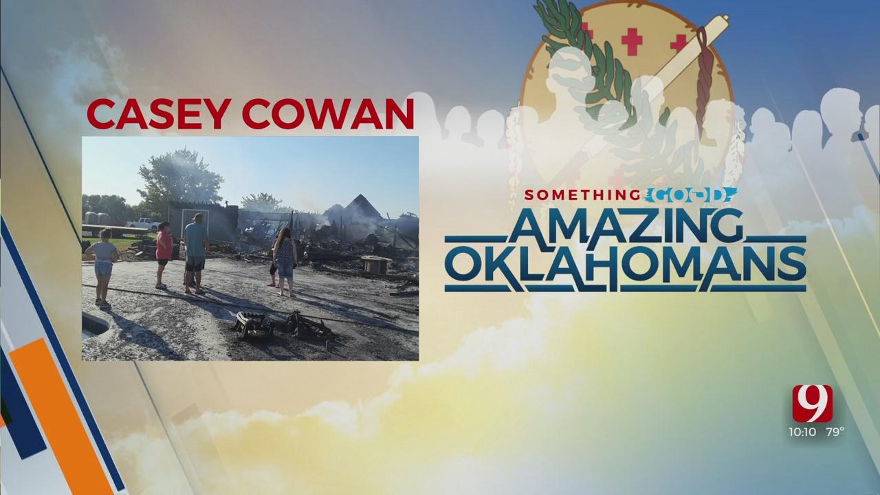 Amazing Oklahoman: Casey Cowan