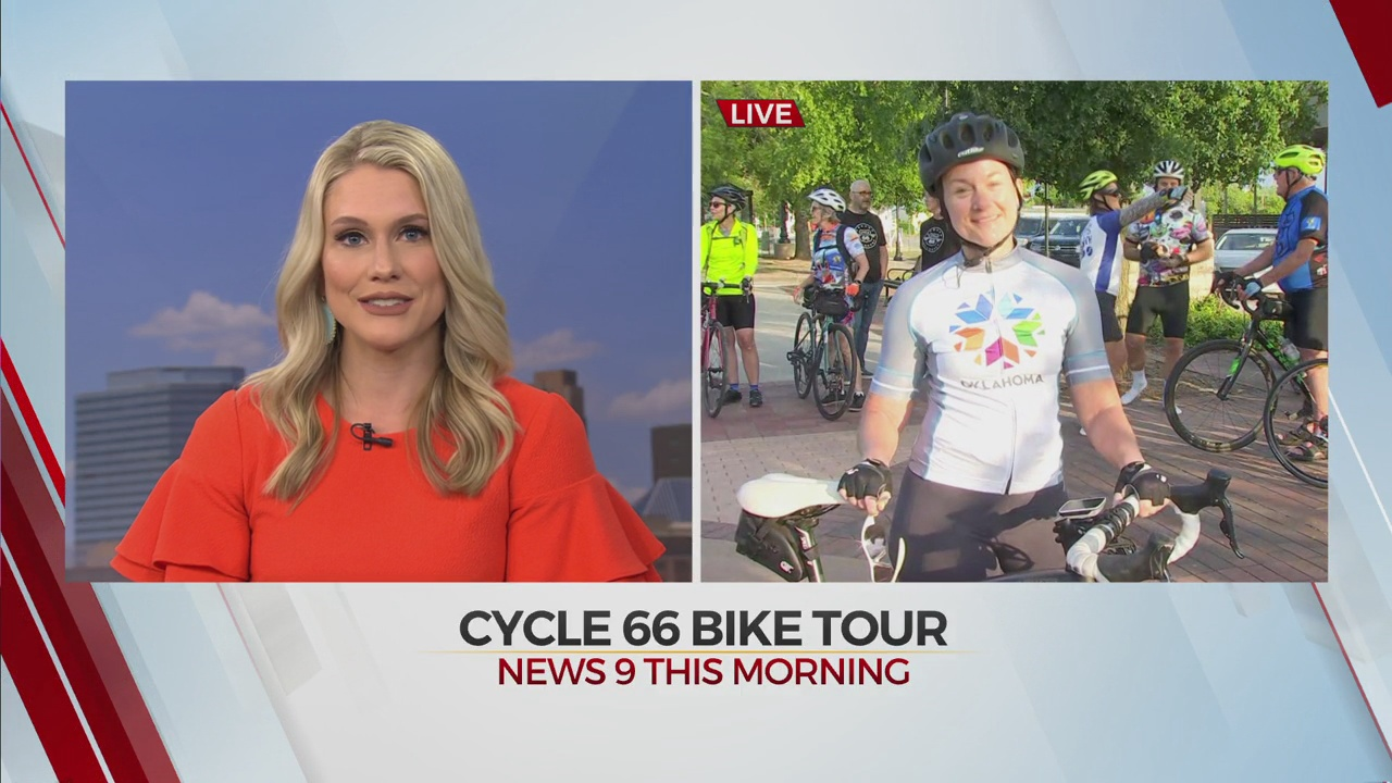 Bike Riders Get A First Look At Cycle 66 Bike Tour