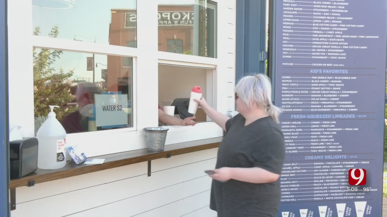 OKC Homeless Alliance Opens New Sasquatch Shaved Ice Location In Bricktown To Help More Youth