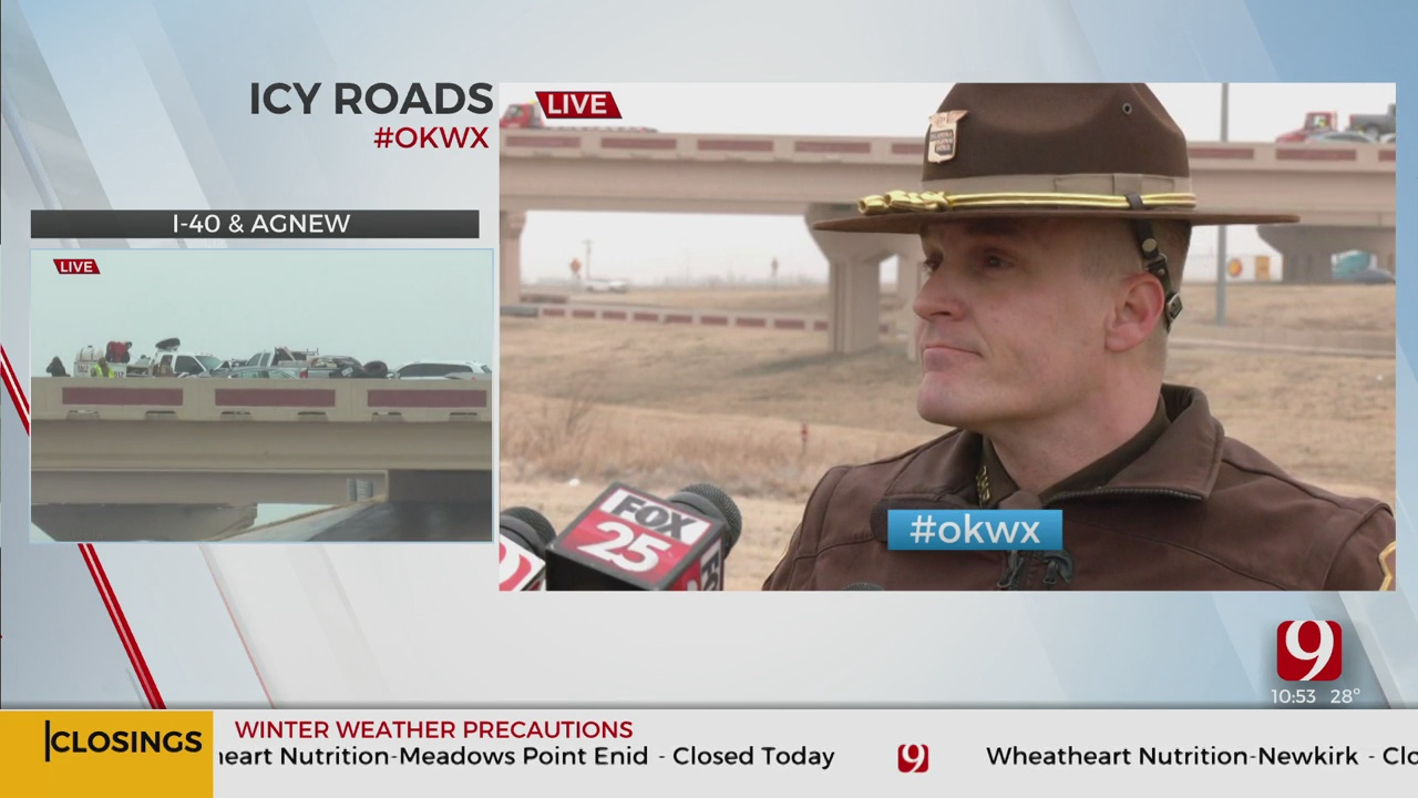 OHP Spokesman Gives Update On Wreck On Oklahoma City Boulevard