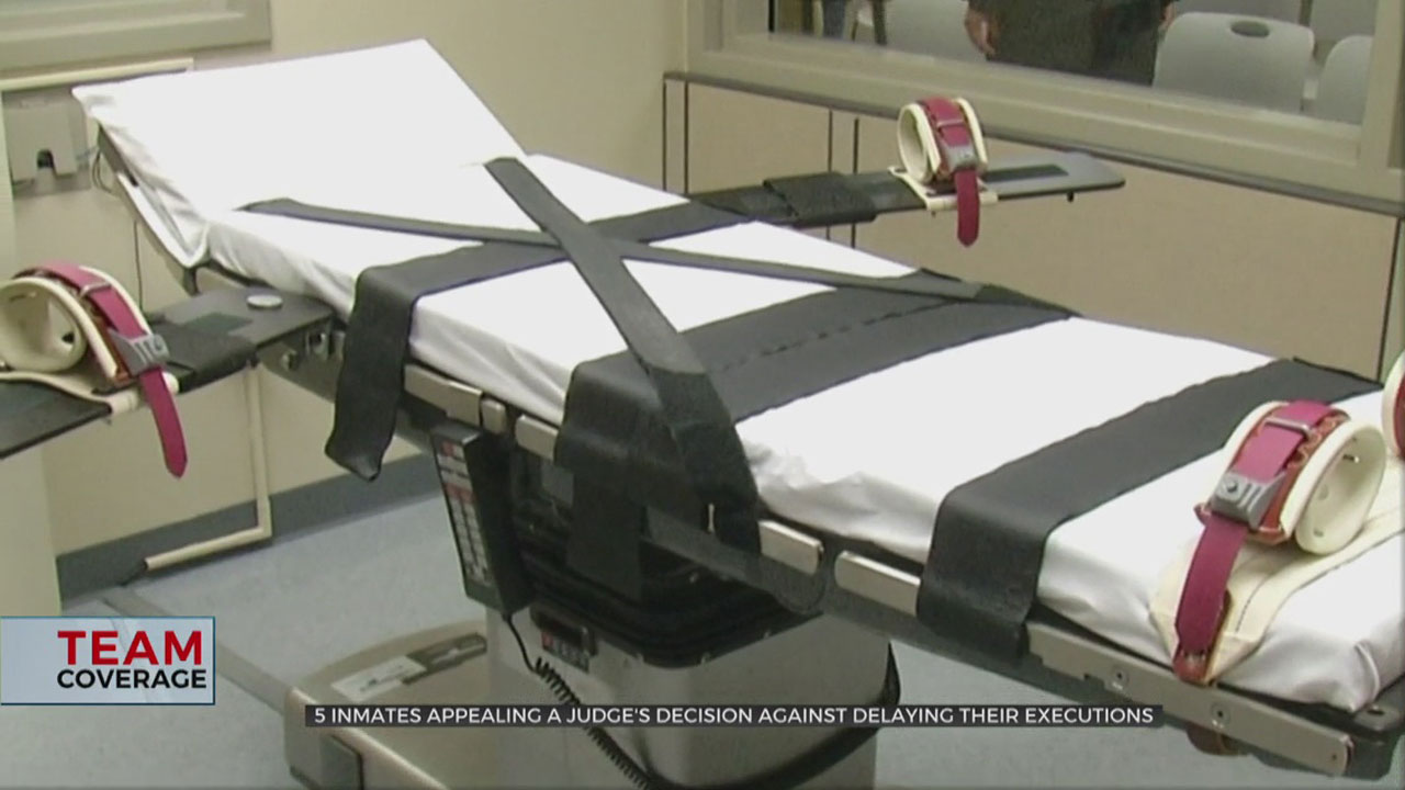 Attorneys For Five Death Row Inmates Appeal To US Court Of Appeals For Halt On Executions