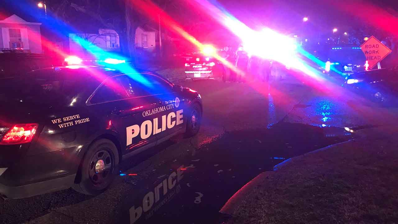 Homicide Suspect In Custody Following High-Speed Chase In OKC, Police Say