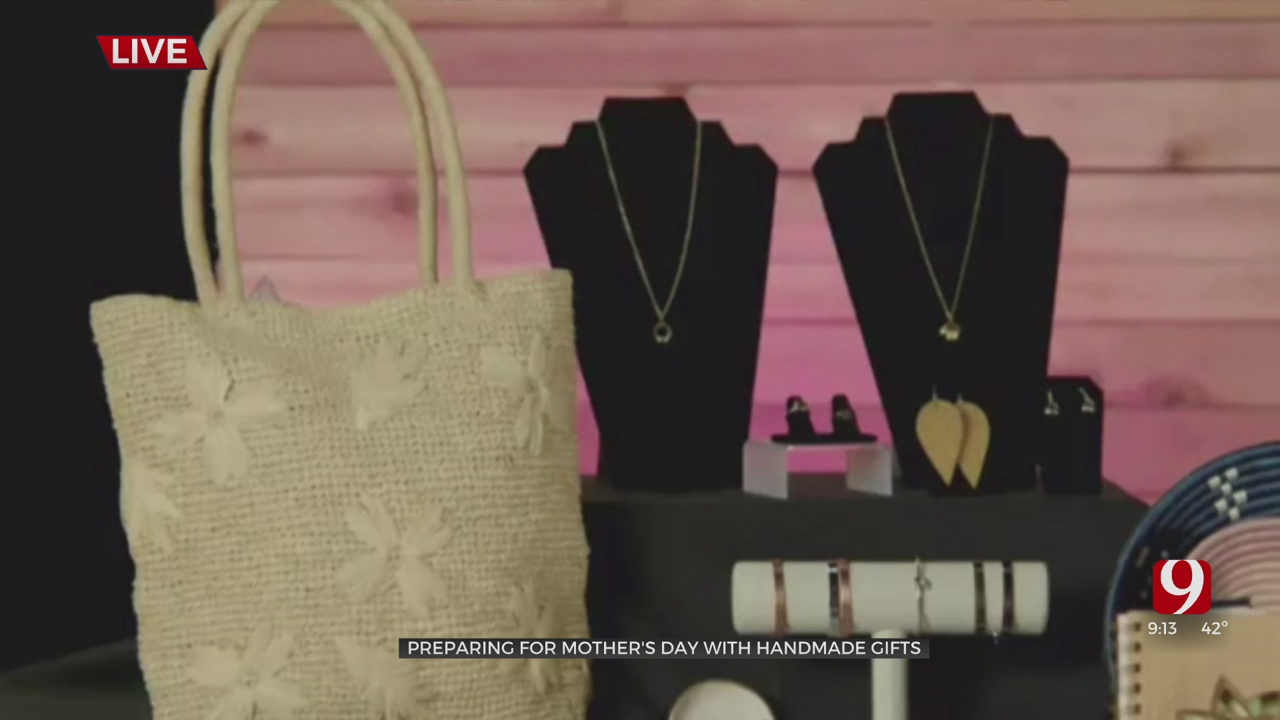 WATCH: Preparing For Mother's Day With Handmade Gifts