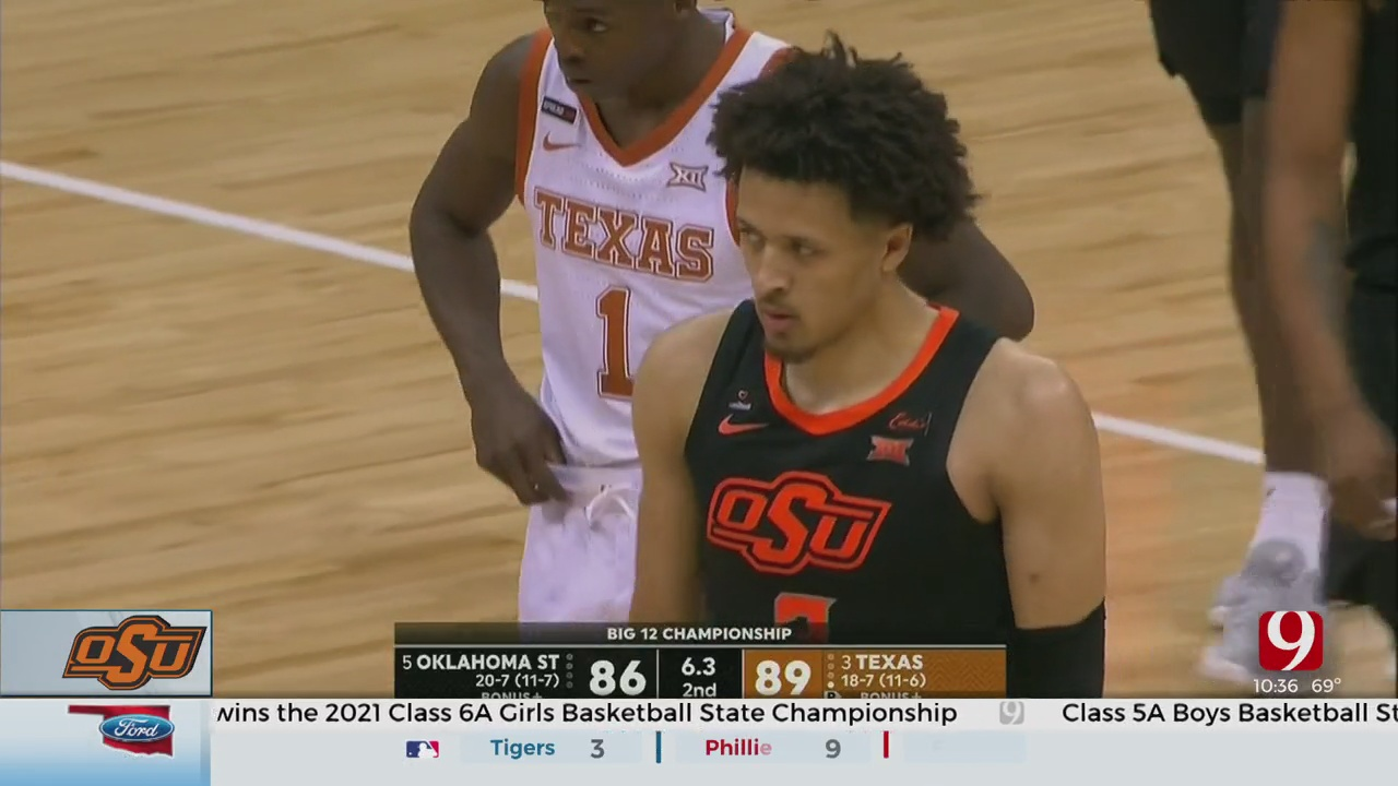 No. 13 Texas Beats No. 12 Oklahoma State For First Big 12 Title