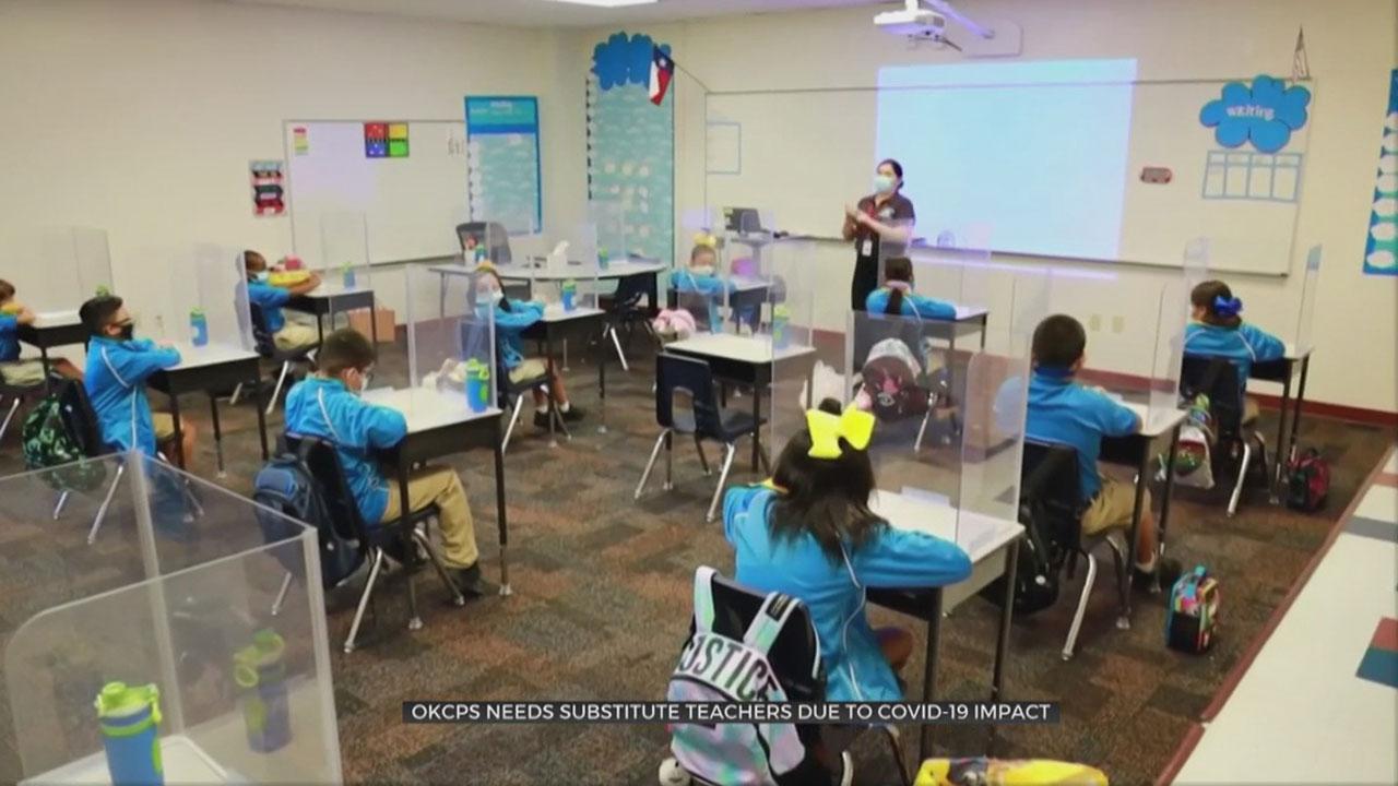 OKCPS Needs Substitute Teachers Due To COVID-19 Impact
