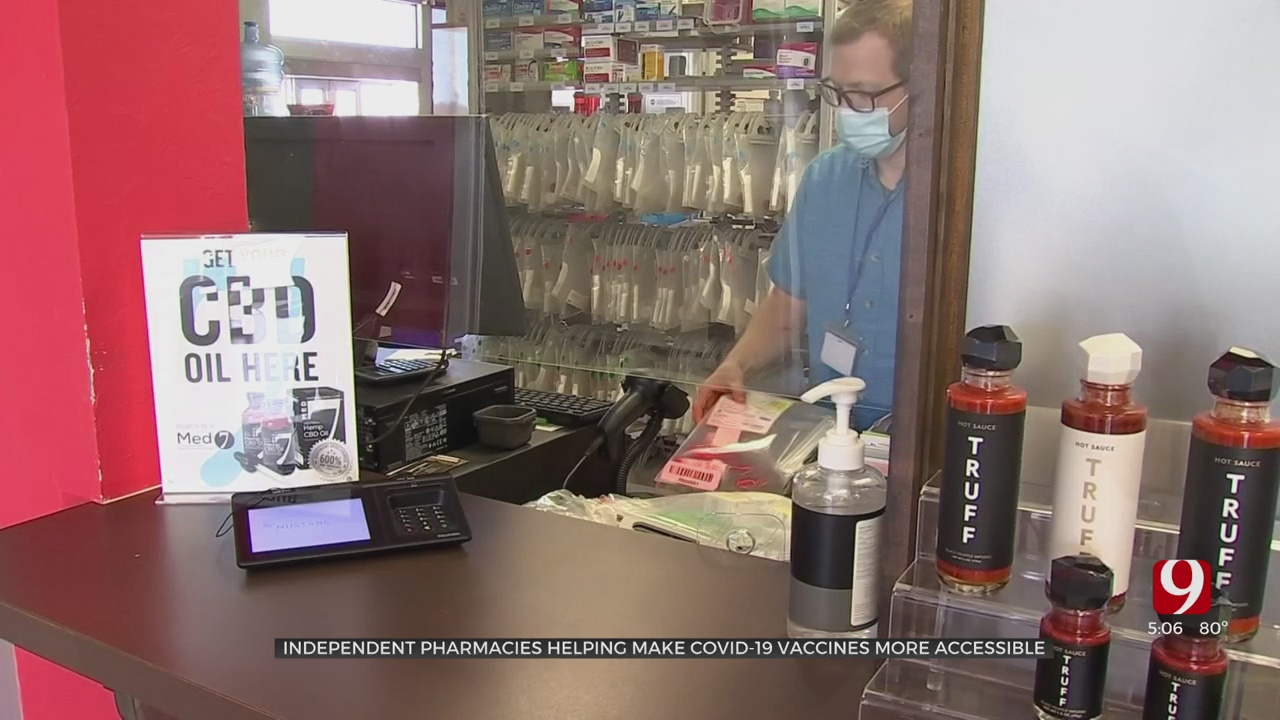 Oklahoma Independent Pharmacies Making COVID-19 Vaccines More Accessible