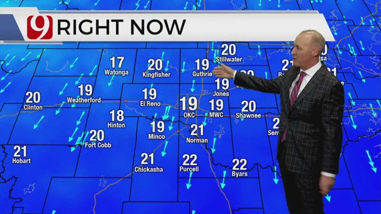WATCH: David Payne Gives A Winter Weather Update (2:30 p.m.)