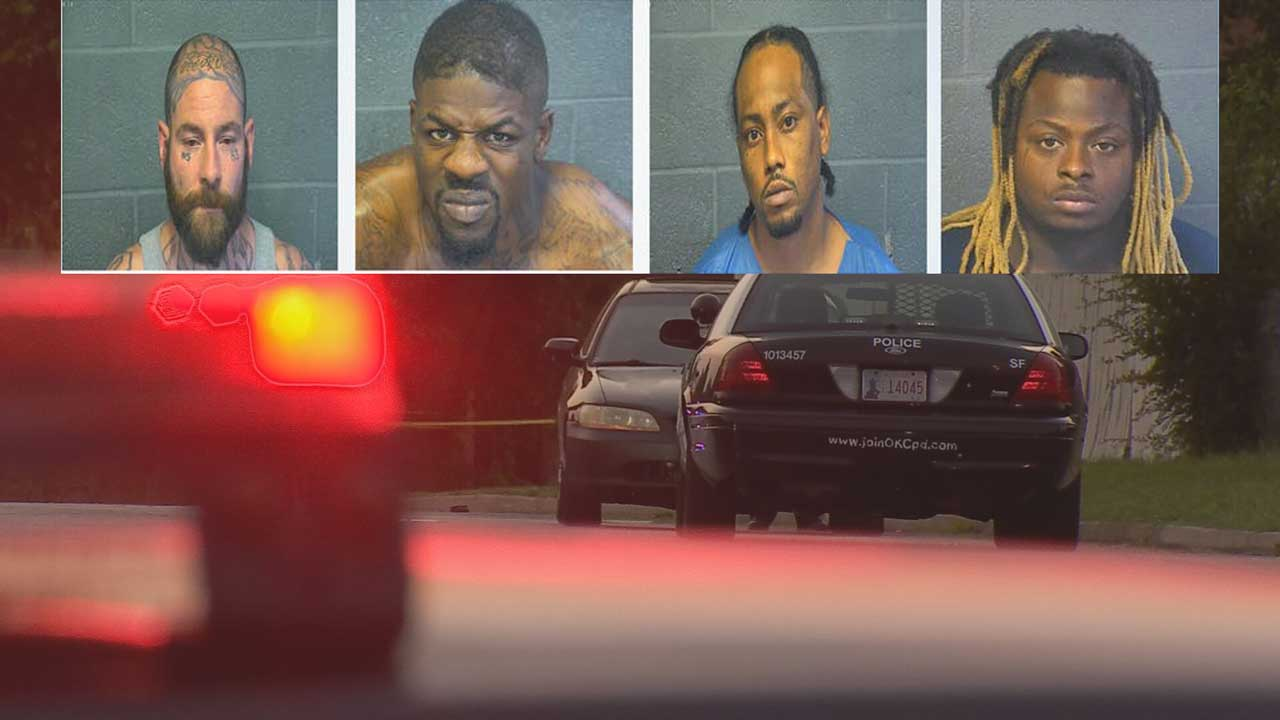 4 Men Arrested After Rolling Shootout In Del City Over The Weekend