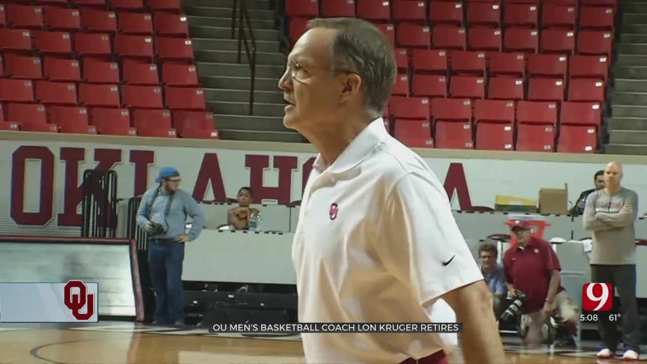 Oklahoma Men's Basketball Coach Lon Kruger Announces Retirement