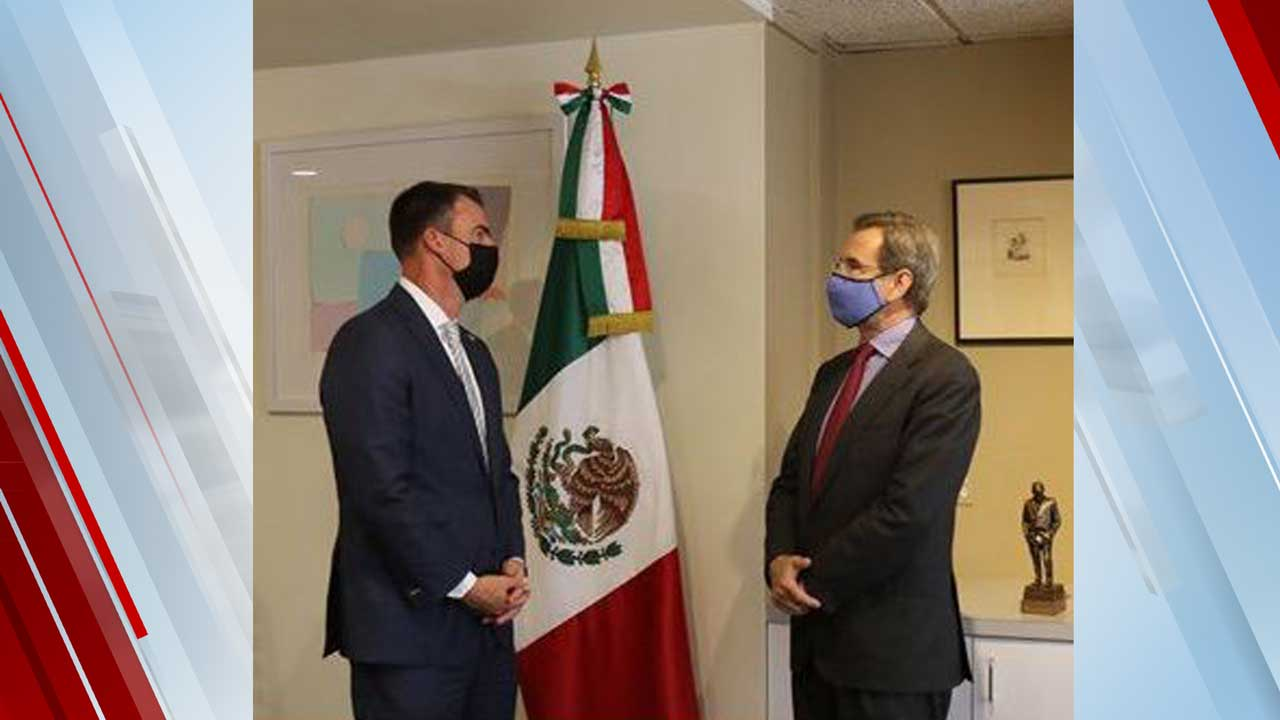'It's Important We Have A Great Relationship With Mexico': Stitt Says Ahead Of Upcoming Trip