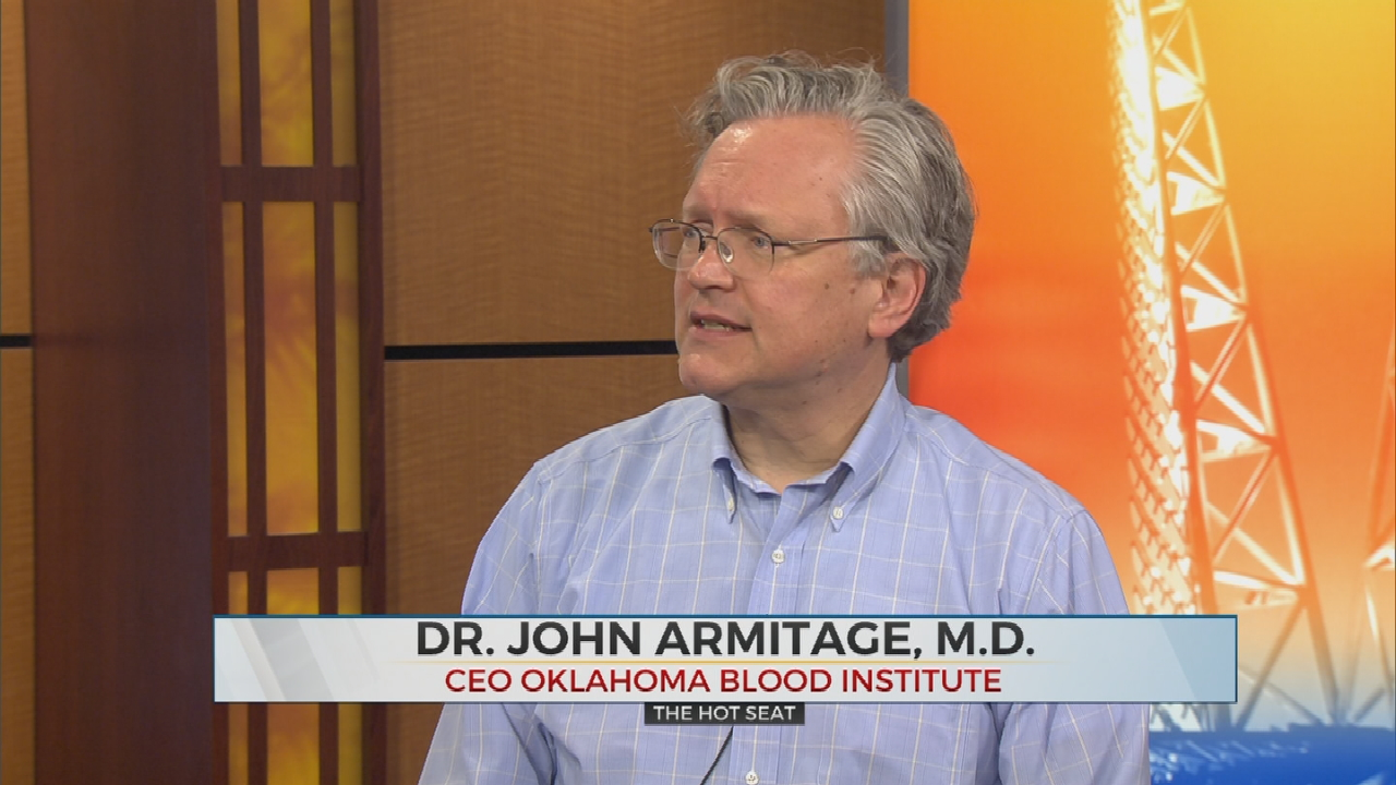 The Hot Seat: Oklahoma Blood Institute In Need