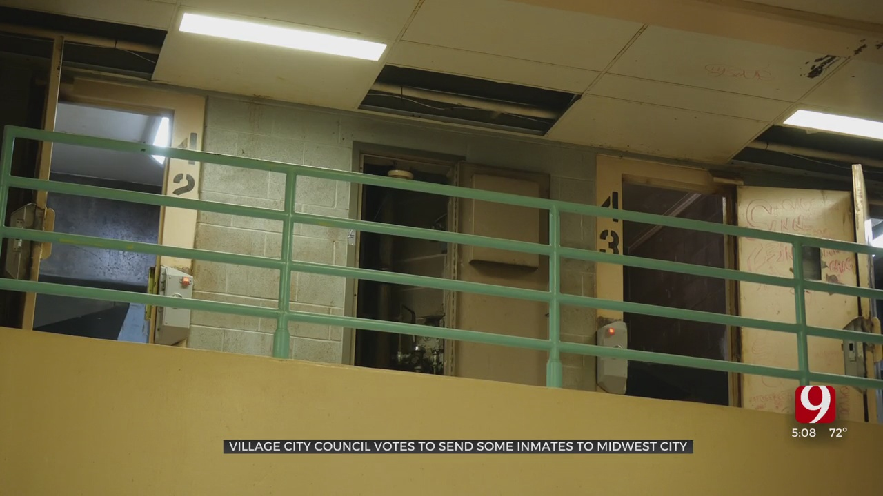 The Village City Council Votes To Send Municipal Inmates To MWC Jail Instead Of Okla. Co. Jail