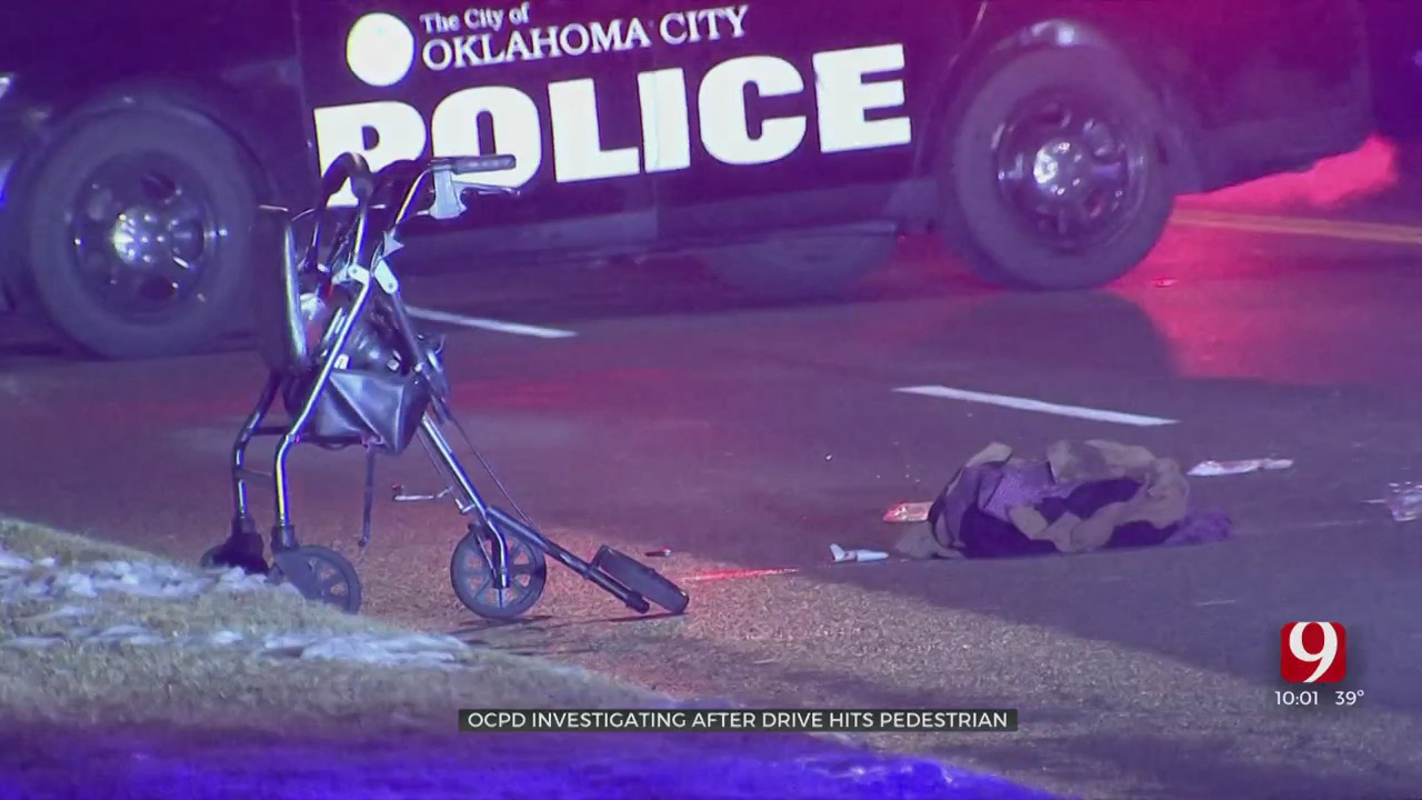 Man In Critical Condition After Hit By Car In Southwest OKC