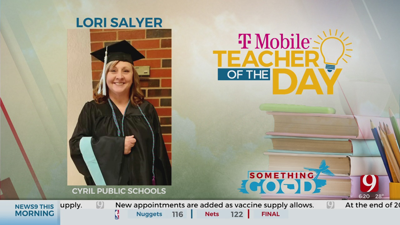 Teacher Of The Day: Lori Salyer