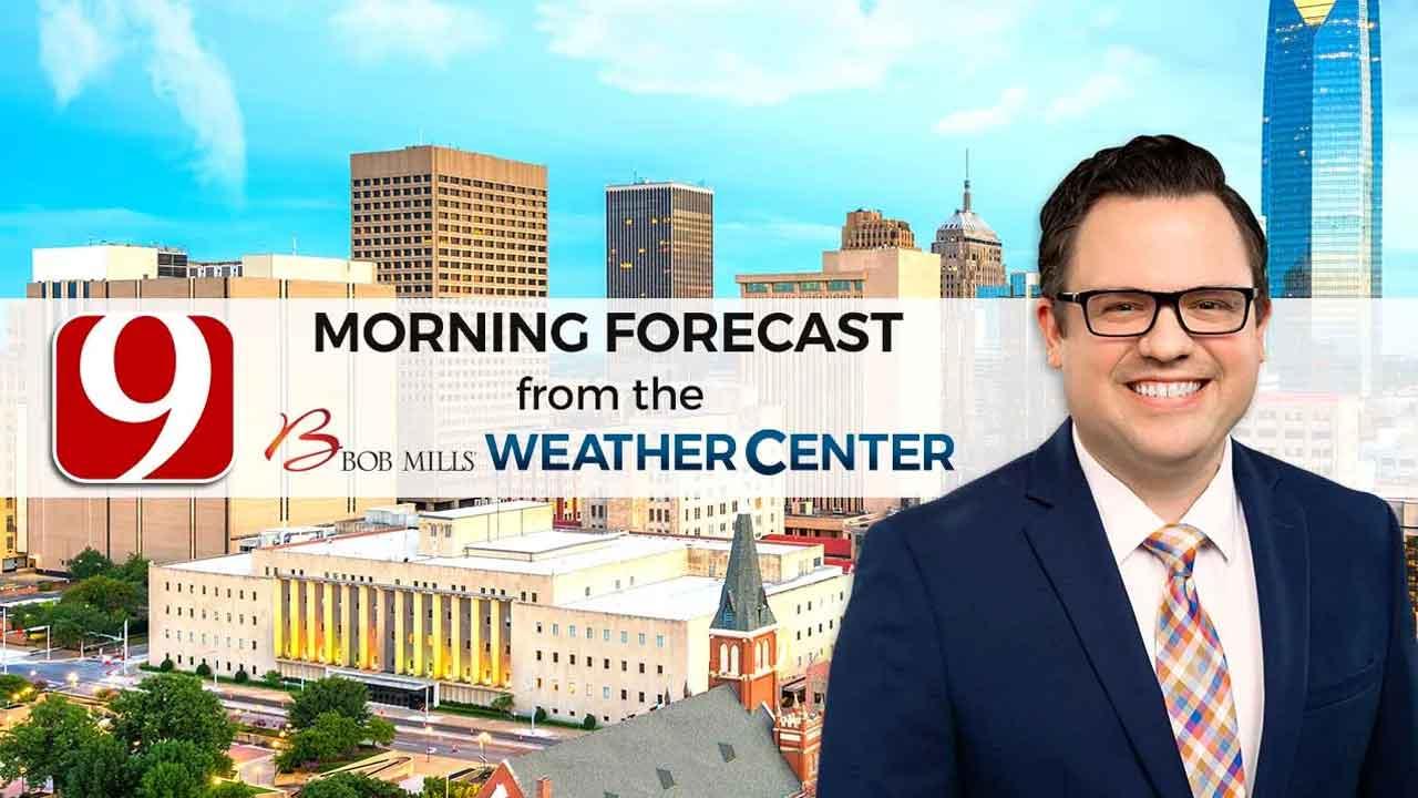 Matt's 9 a.m. Wednesday Forecast