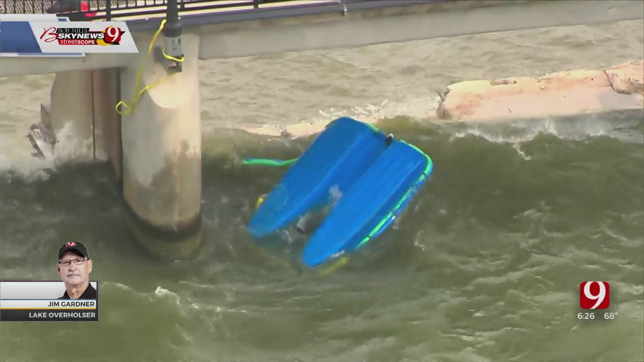 Dive Team Recovers Body After Boat Capsizes At Lake Overholser