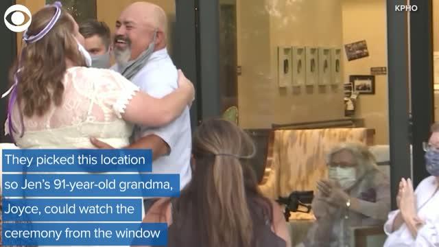 TOO SWEET! Wedding Held At Senior Living Community For Bride's Grandma