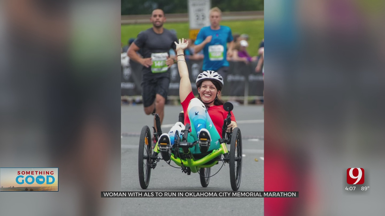 Woman With ALS To Compete In OKC's Memorial Marathon As Part Of Her 50 Marathons Goal