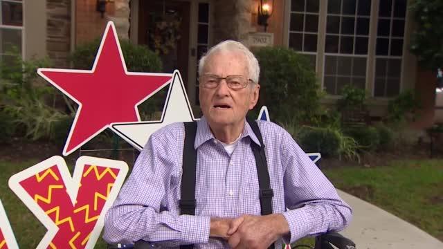 Community Helps World War II Veteran Celebrate 94th Birthday